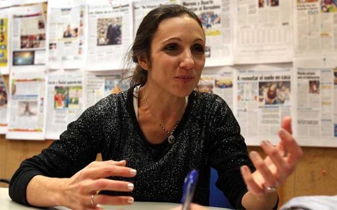 Verónica Brunati, periodista esposa de Jorge Topo López
