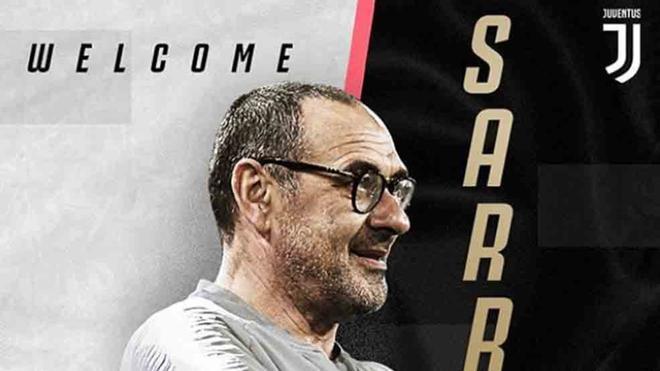 Sarri es el nuevo entrenador de la Juventus