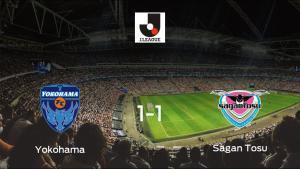 El Yokohama y el Sagan Tosu concluyen su encuentro liguero con un empate (1-1)