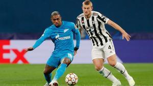 El resumen del partido entre el Zenit y la Juventus