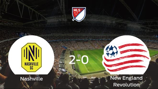El Nashville SC le complica el liderato al New England Revolution (2-0)