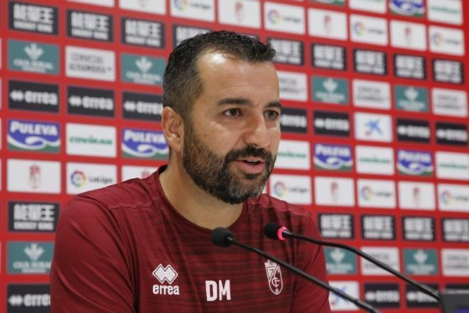 Diego Martínez, técnicop del Granada
