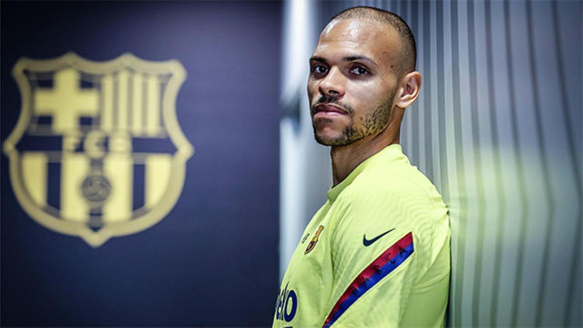 Braithwaite: Es más fácil jugar en el Barça que en el Leganés