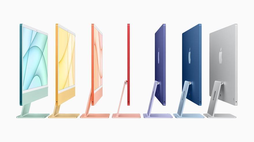 Así es el nuevo iMac de 24 pulgadas: nuevo diseño, pantalla 4.5K y chip M1