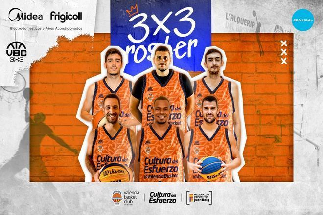 Valencia Basket inicia su andadura en el mundo del 3x3