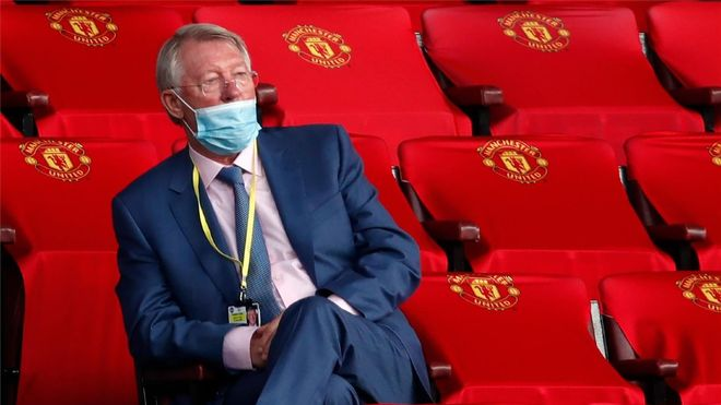 Sir Alex Ferguson, histórico entrenador del Manchester United