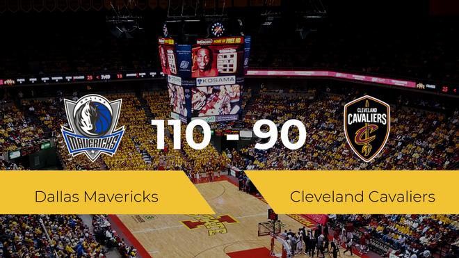 Dallas Mavericks se impone por 110-90 frente a Cleveland Cavaliers