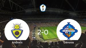 Los tres puntos se quedan en casa: Andratx 2-0 CD Génova