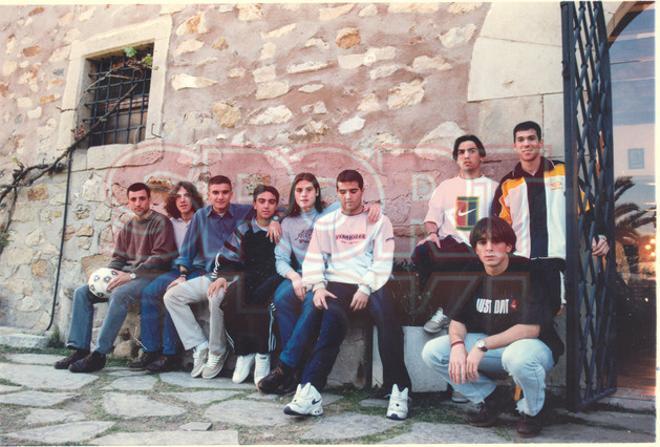 19. Xavi y Puyol
