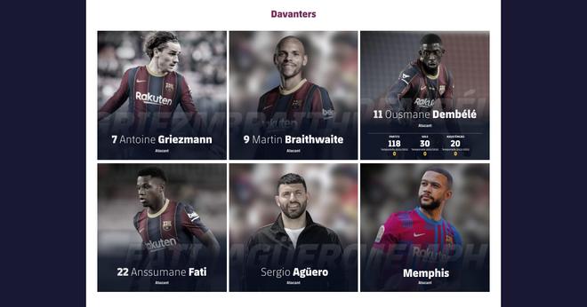 Messi, borrado de la web del Barça