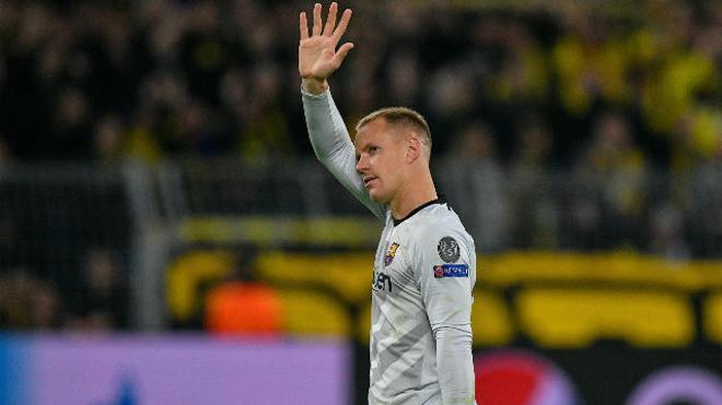 Ter Stegen firmó otro partidazo en Dortmund: así fueron sus paradas