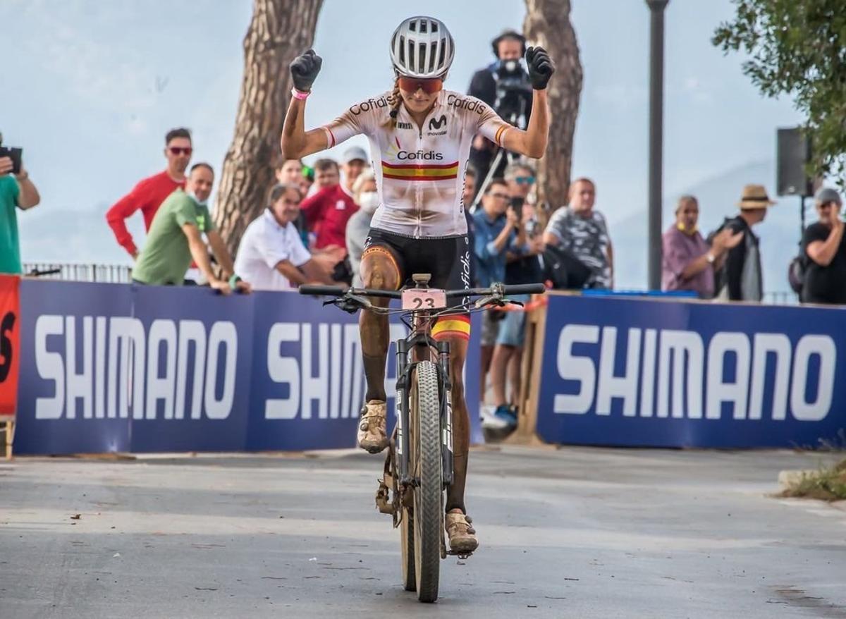 Natalia Fischer, confirma en la Fred. Olsen Express Transgrancanaria Bike