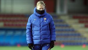 Koeman volvió a pedir fichajes para el Barça
