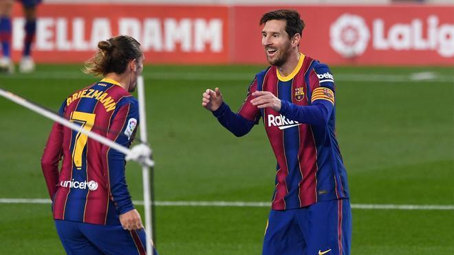 Messi y Griezmann, en una imagen de archivo