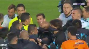 El brutal cabreo de Messi