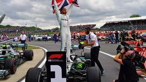 Hamilton, rey de Silverstone, con seis victorias los últimos siete años