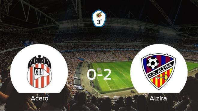 El Alzira se lleva los tres puntos ante el Acero (0-2)