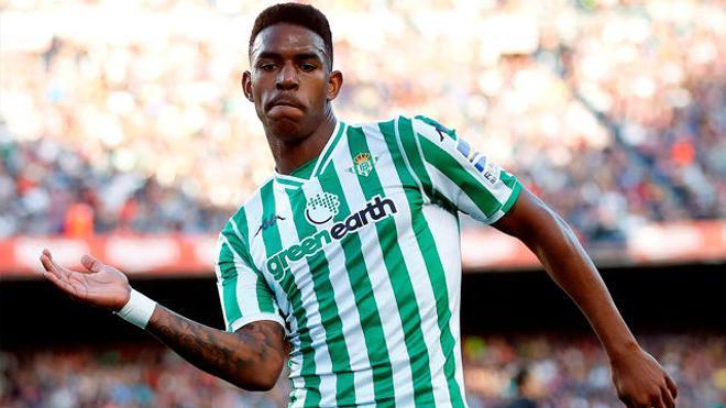 Junior Firpo, en la agenda del Barça