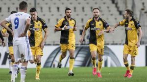 Maumer Tankovic inició la goleada ante el Zorya