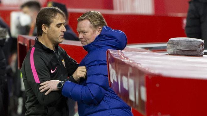 A Ronald Koeman se le atraganta el Sevilla como entrenador