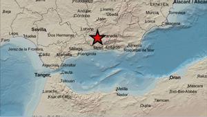 Un terremoto de magnitud 4,4 sacude Granada de nuevo