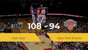 Victoria de Utah Jazz ante New York Knicks por 108-94