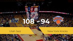 Victoria de Utah Jazz ante New York Knicks por 108-94