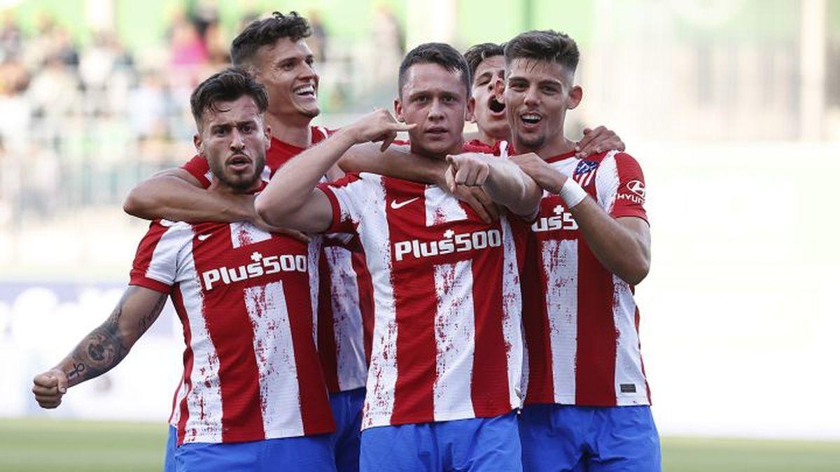 Atlético de Madrid, actuales campeones de LaLiga, buscan continuar sumando victorias de cara al comienzo de campaña
