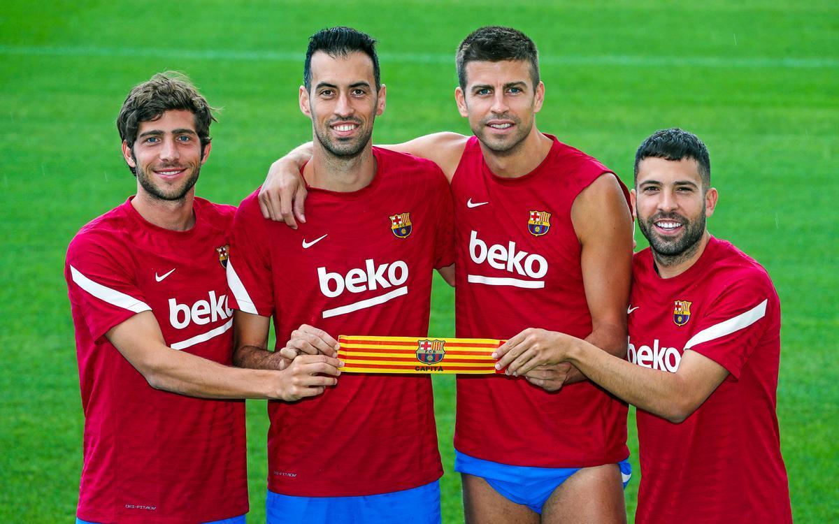 Jordi Alba se incorpora a la lista de capitanes tras el adiós de Messi