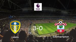 El Leeds Unitedse hace con los tres puntos tras golear al Southampton en casa (3-0)