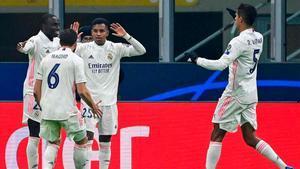 Rodrygo, con ayuda de Achraf, cerró el marcador ante el Inter