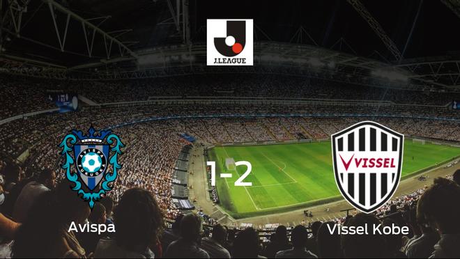 El Vissel Kobe deja sin sumar puntos al Avispa Fukuoka (1-2)