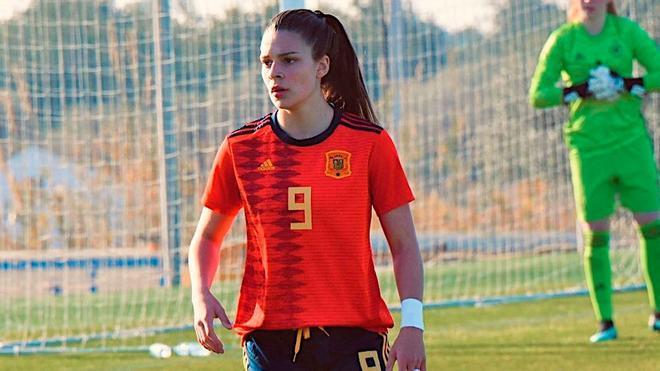 Uno de los goles de Gio Queiroz con la selección española
