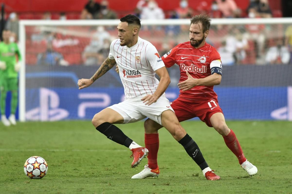 El resumen del empate entre el Sevilla y el Salzburgo