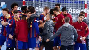Los jugadores cambian la camiseta del Barça por las de sus selecciones