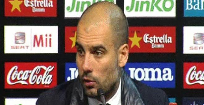 Guardiola y Emery reconocen que la expulsión de Pinto hubiera cambiado el encuentro