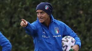 Roberto Mancini, seleccionador italiano