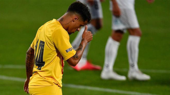 Coutinho volvió a marcar con el Barça desde los 11 metros