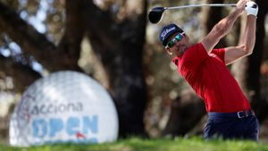 Rafa Cabrera-Bello saldrá con dos golpes de ventaja en la última jornada del Open de España