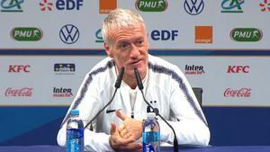 Deschamps no hizo caso a las palabras de Zidane