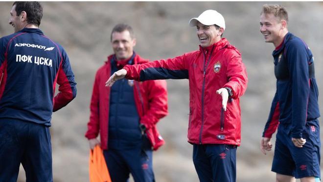 Granero, el pasado verano junto al técnico Viktor Goncharenko