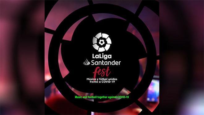 Los futbolistas de LaLiga se unen para promocionar un festival musical solidario