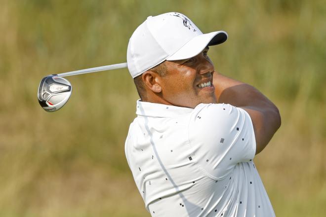 El venezolano Jhonattan Vegas, durante el PGA Tour