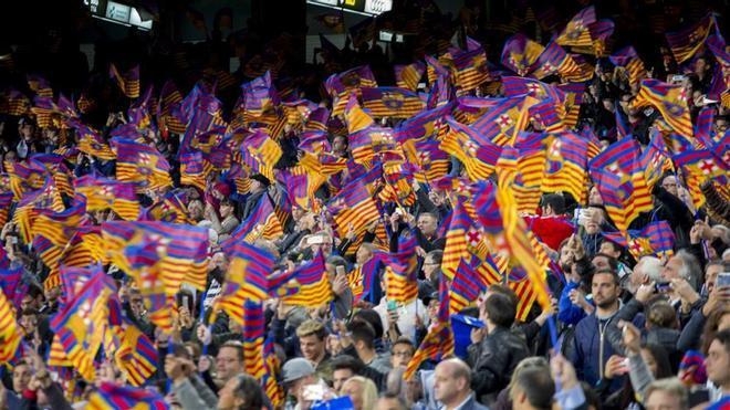 Una imagen del Camp Nou