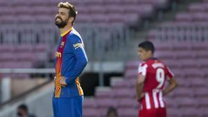 Piqué, tras empatar ante el Atlético: Seguimos vivos por LaLiga