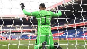 Keylor Navas ha reaparecido con el PSG ante el Niza