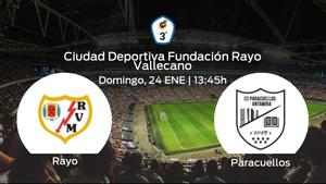 Previa del partido: Rayo B - Paracuellos Antamira