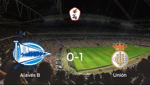 El Real Unión de Irún consigue los tres puntos tras ganar 0-1 al Alavés B