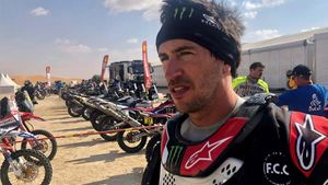 Barreda abandona el Dakar