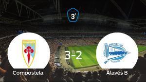 El Compostela se queda fuera de los playoff a pesar de haber ganado al Alavés B (3-2)